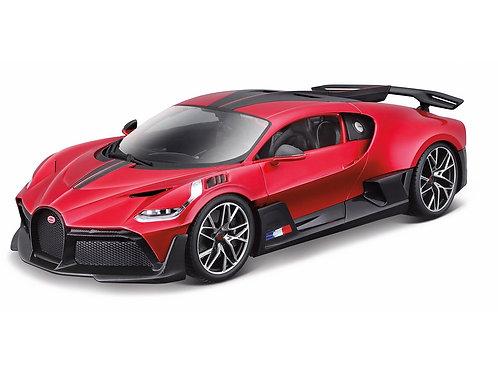 Bugatti Divo rot Carbon 2018 Bburago 1/18