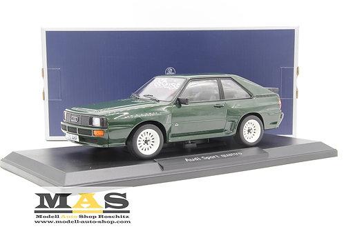 Audi Sport Quattro 1985 verde Norev 1/18