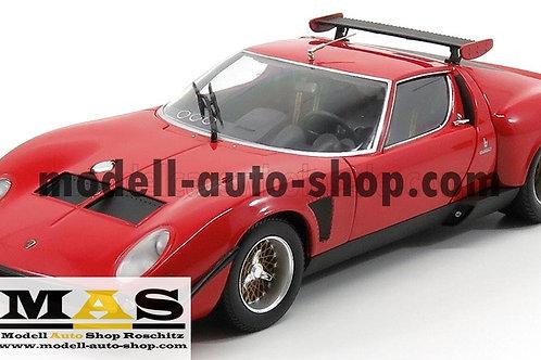 Lamborghini Miura SVR rot schwarz Kyosho 1/18