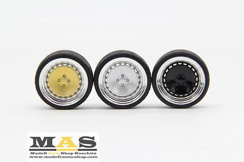 Ronal Turbo F10 16 inch SD rims 1/18 gold, silver, black