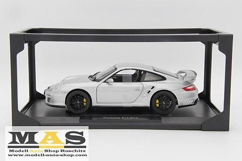 Porsche 911 GT2 2007 Silber Norev 1/18