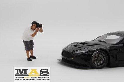 Weekend Car Show Figure 4 - Fotograf Mann American Diorama 1/18