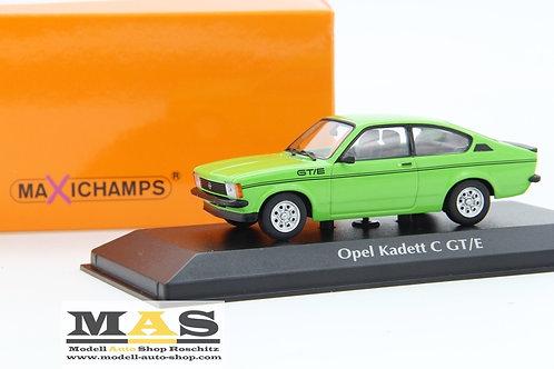 Opel Kadett C GT/E grün 1978 Minichamps 1/43