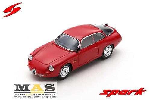 """Alfa Romeo Giulietta Sport Zagato """"Coda Tronca"""" 1962 Spark 1/43"""