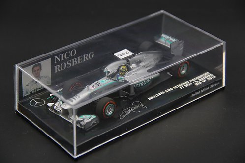 Mercedes W04 N. Rosberg USA GP 2013 Minichamps 1/43