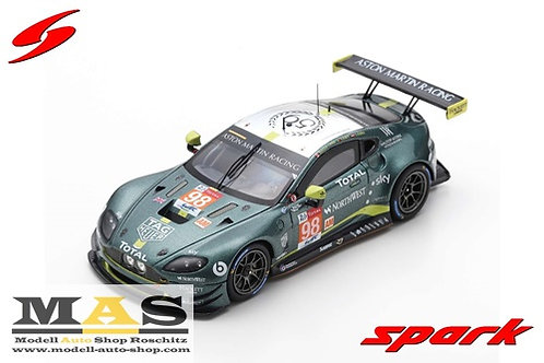 Aston Martin Vantage GTE LMGTE-AM 24h Le Mans 2019 Lauda Lana Lamy Spark 1/43