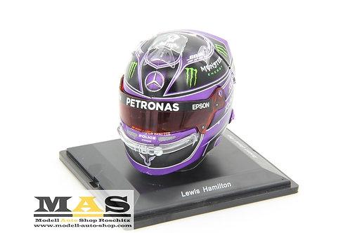Lewis Hamilton Turkey GP 2020 World Champion Helmet Spark 1/5