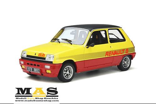 Renault 5 TS Monte Carlo 1978 Otto Mobile 1/18