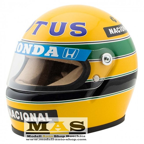 Ayrton Senna 1987 Lotus Helm 1/2