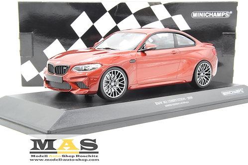 BMW M2 Competition 2019 orange Minichamps 1/18