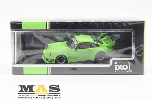Porsche 911 (930) RWB Rauh Welt grün IXO 1/43