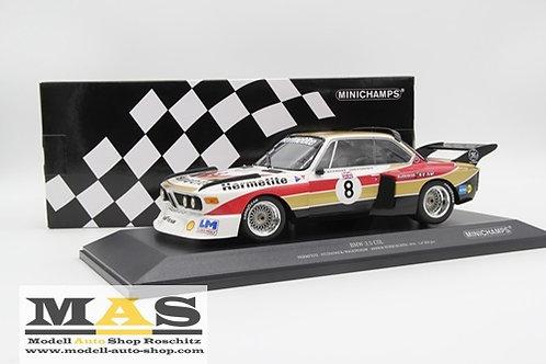 BMW 3.5 CSI Hermetite 1000km Nürburgring 1976 Minichamps 1/18