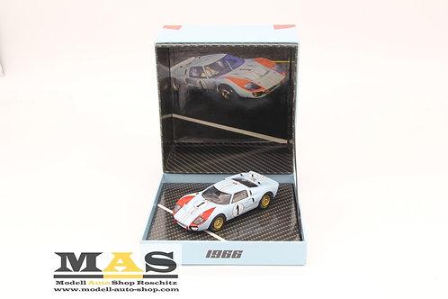 Ford GT40 MK 2 Miles, Hulme 24h Le Mans 1966 CMR 1/43