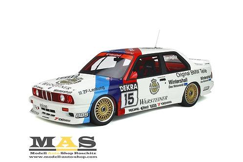 BMW M3 E30 Evolution Warsteiner R. Ravaglia DTM Champion 1989 Otto Mobile 1/12