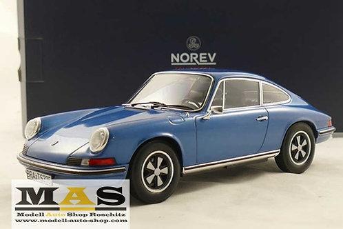 Porsche 911 S 1973 Blau Norev 1/18