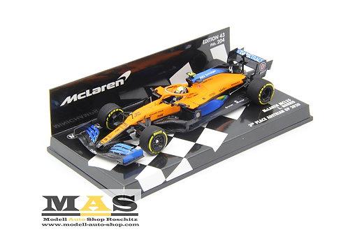 McLaren MCL35 L. Norris GP d'Austria 2020 Minichamps 1/43