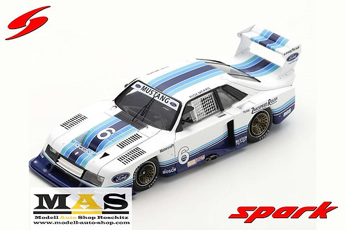 Ford Mustang Zakspeed Sears Point 1982 R. Mears Spark 1/43