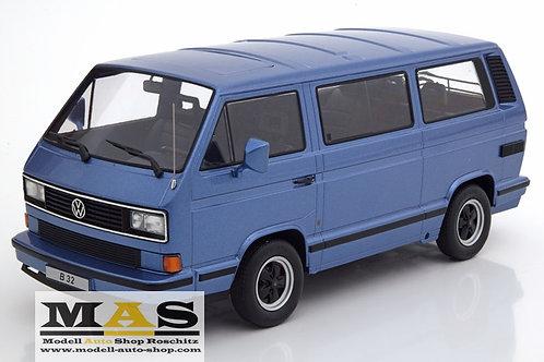Porsche B32 Volkswagen VW Bulli T3 1984 blau KK-Scale 1/18