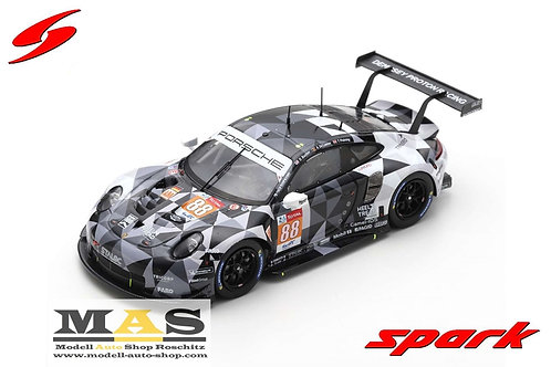 Porsche 911 RSR No. 88 24h LeMans 2020 T. Preining Spark 1/43