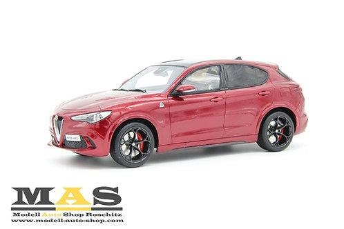 Alfa Romeo Stelvio red Otto Mobile 1/18