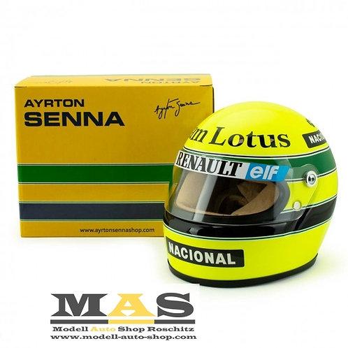 Ayrton Senna 1985 Lotus Helm 1/2