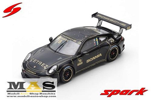 Porsche 911 Carrera Cup No. 78 S. Blomqvist 2018 Homage R. Peterson Spark 1/43
