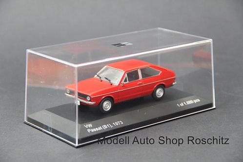 VW Passat B1 1973 rot 1/43 WhiteBox