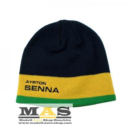 Ayrton Senna Beanie Racing Haube