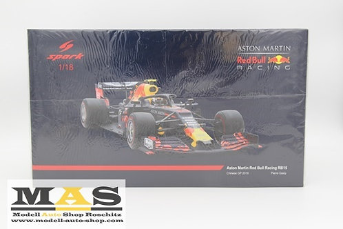 Red Bull RB15 P. Gasly China GP 2019 Spark 1/18