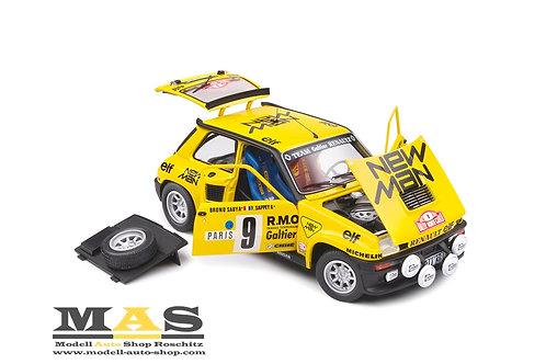 Renault 5 Turbo 5th Rallye Monte Carlo 1982 Saby, Sappey Solido 1/18
