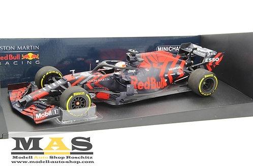 Red Bull RB15 M. Verstappen Shakedown Silverstone 2019 Minichamps 1/18