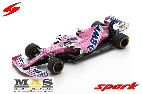 BWT Racing Point RP20 L. Stroll 3rd Italien GP 2020 Spark 1/43