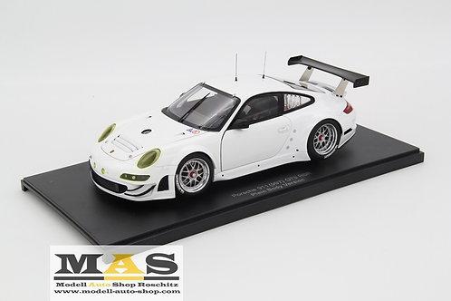 Porsche 911 997 GT3 RSR 2010 Plain Body weiss Autoart 1/18