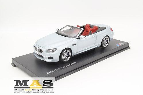 BMW M6 Cabrio F12 silber Paragon Models 1/18