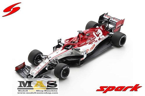 Alfa Romeo C39 K. Raikkonen No. 7 Test 2020 Spark 1/18