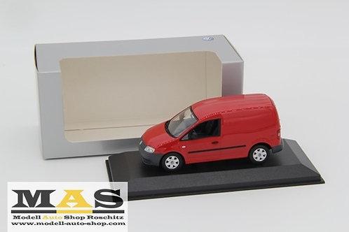 Volkswagen Caddy 2005 Rot Minichamps 1/43