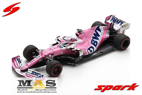 BWT Racing Point RP20 S. Perez Styrian GP 2020 Spark 1/43