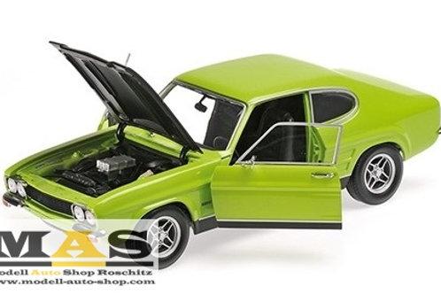Ford Capri RS 2600 grün schwarz 1970 Minichamps 1/18