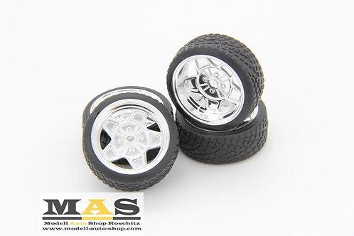 ATS Classic 15 Zoll SD Felgen 1/18 chrom, silber, schwarz