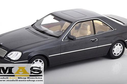 Mercedes 600 SEC C140 metallic-anthrazit 1992 KK Scale 1/18