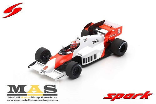 McLaren MP4 / 2 N. Lauda winner British GP 1984 Spark 1/43