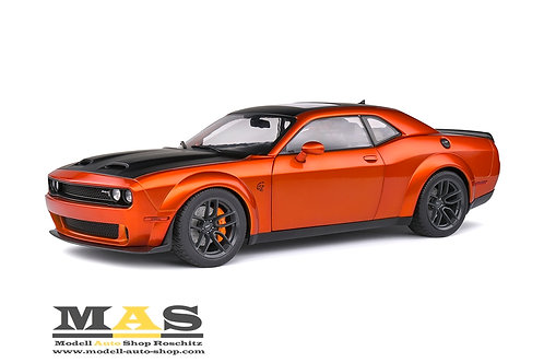 Dodge Challenger SRT Hellcat Redeye Widebody 2020 orange Solido 1/18