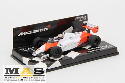 McLaren Ford MP4/1c J. Watson winner USA GP West 1983 Minichamps 1/43