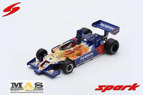 Shadow DN9 #17 J. Lammers Practice Monaco GP 1979 Spark 1/43
