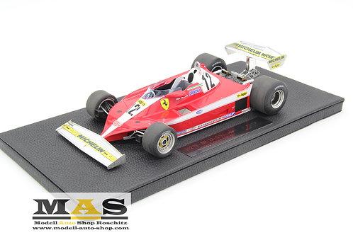 Ferrari 312T3 G. Villeneuve 1978 GP Replicas 1/18