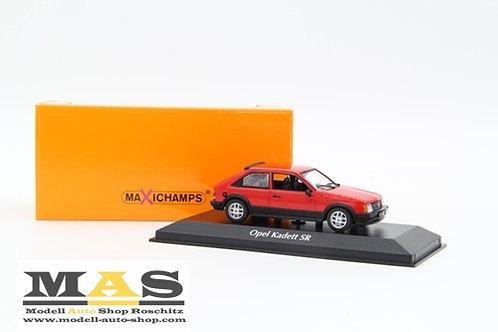 Opel Kadett D SR 1982 rot Minichamps 1/43