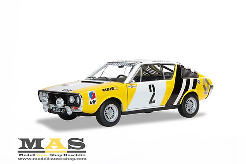 Renault R17 Rallye de Pologne 1976 Krupa, Mystkowski Solido 1/18