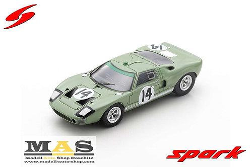 Ford GT40 24h LeMans 1965 J. Whitmore, I. Ireland Spark 1/43
