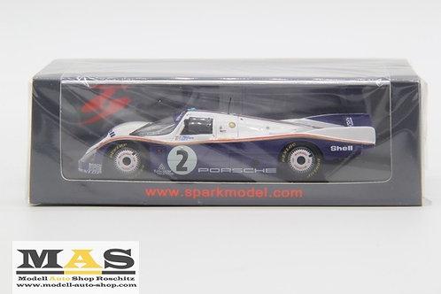 Porsche 962c 24h LeMans 1985 Bell, Stuck, Ickx Spark 1/43