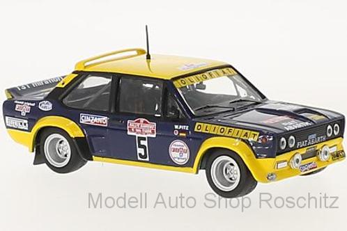 Fiat 131 Abarth Rallye San Remo W. Röhrl / W. Pitz IXO 1/43